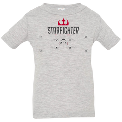 T-Shirts Heather / 6 Months X Wing Infant Premium T-Shirt