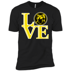 T-Shirts Black / X-Small Yellow Ranger LOVE Men's Premium T-Shirt