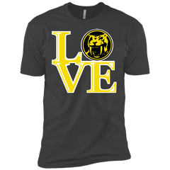 T-Shirts Heavy Metal / X-Small Yellow Ranger LOVE Men's Premium T-Shirt