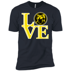 T-Shirts Indigo / X-Small Yellow Ranger LOVE Men's Premium T-Shirt