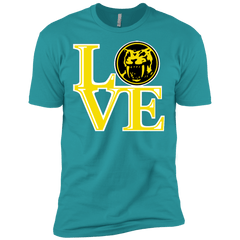 T-Shirts Tahiti Blue / X-Small Yellow Ranger LOVE Men's Premium T-Shirt
