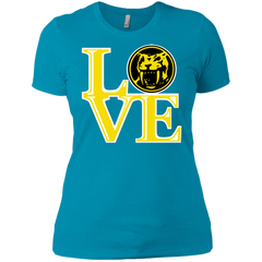 Yellow Ranger LOVE Women's Premium T-Shirt