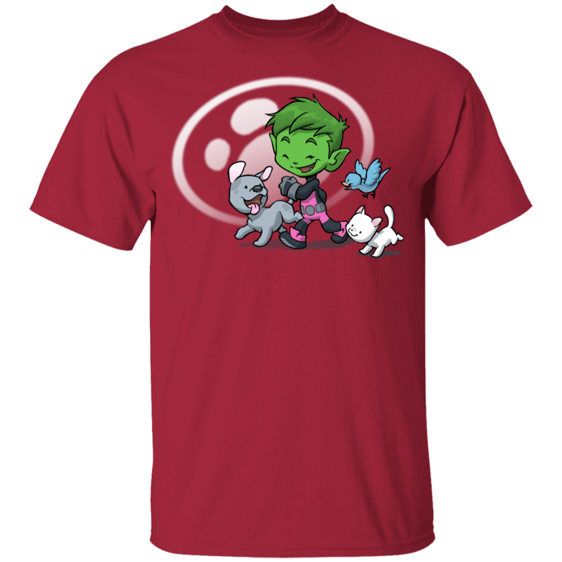 Young Hero Beast Boy Youth T-Shirt