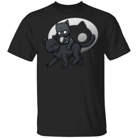 T-Shirts Black / S Young Hero Black Panther T-Shirt