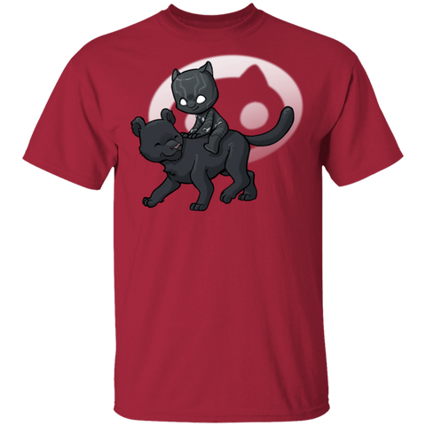 T-Shirts Cardinal / S Young Hero Black Panther T-Shirt