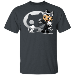 Young Hero Cat T-Shirt