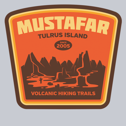 Volcanic Hiking Trails T-Shirt