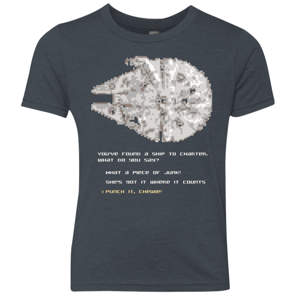 8-Bit Charter Youth Triblend T-Shirt