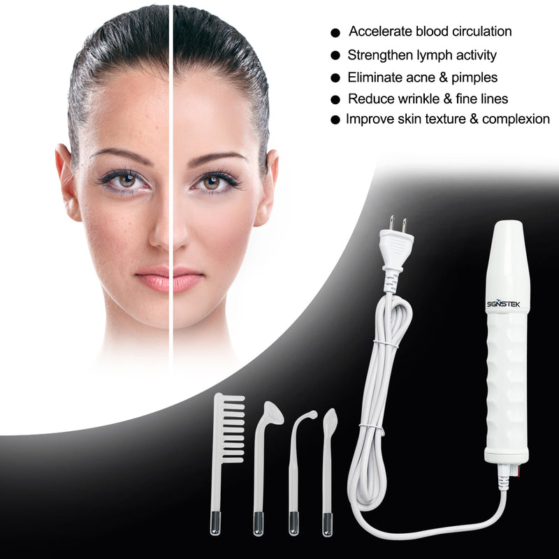 Portable High Frequency Face Wand Facial Machine