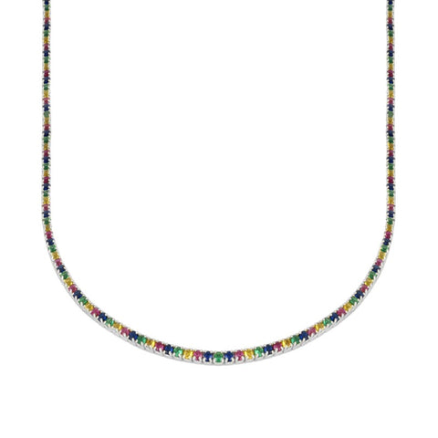 Chocker Riviere multicolor