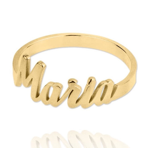 Anillo Name Gold