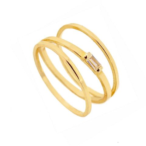 Anillo Isabel Gold