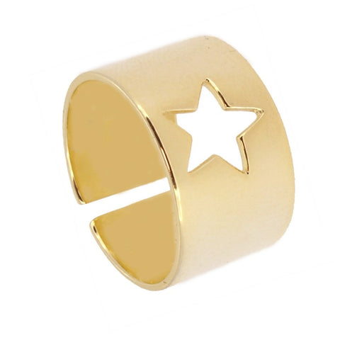 Anillo Big Star Gold