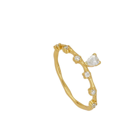 Anillo Martina White Gold
