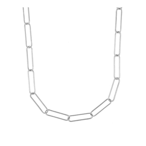 Collar Hexagon Silver