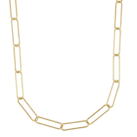 Collar Hexagon Gold