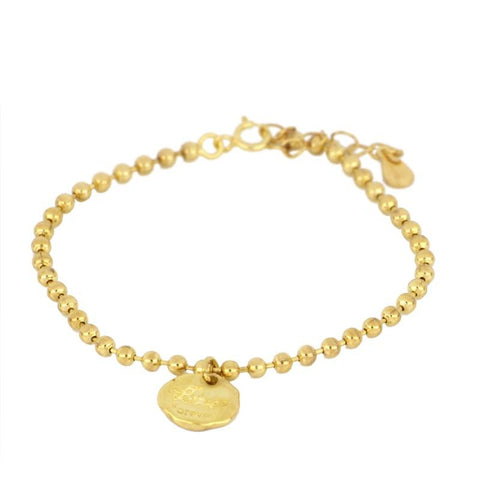 Pulsera Love Forever Gold
