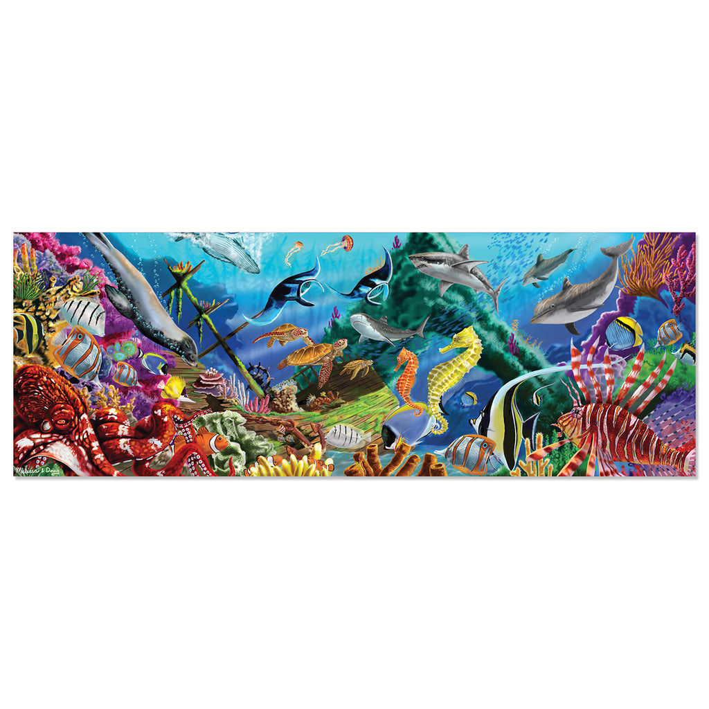 Underwater Oasis Floor Puzzle (200 pc)