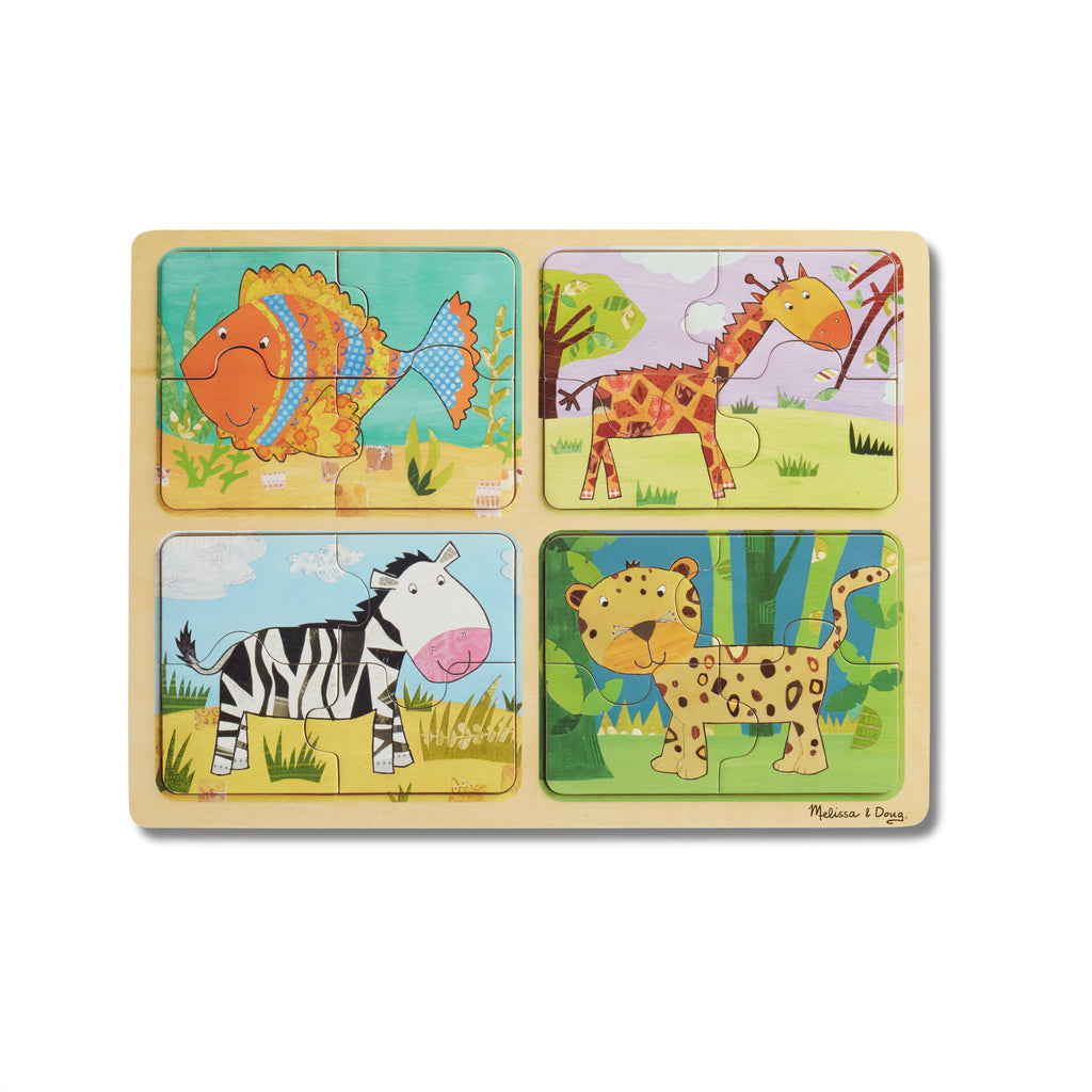 NP Wooden Puzzle: Animal Patterns