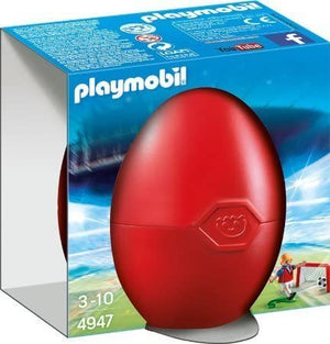Playmobil - Soccer Player with Goal 4947