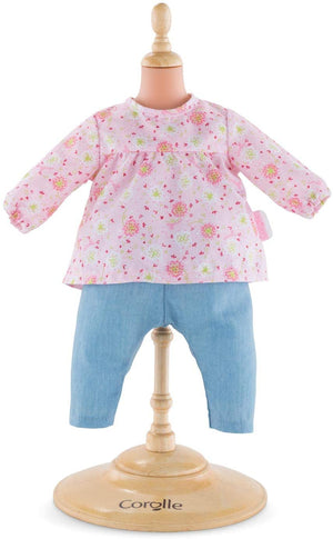"Corolle Mon Premier Poupon Blouse and Pants Baby Toy 12 ""Doll, Pink"