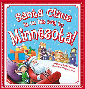 Santa Claus in on his way to Minnesota Book