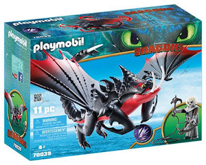 Dreamworks - Playmobil - How to Train your Dragon Deathgripper with Grimmel 70039