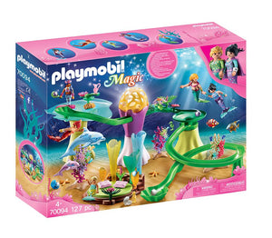 Playmobil - Mermaid Cove with Illuminated Dome 70094