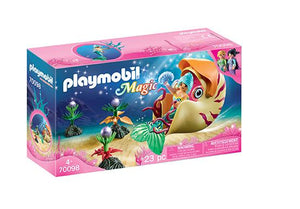 Playmobil - Mermaid with Sea Snail Gondola 70098