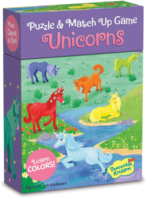 PUZZLE & MATCH UP GAMES UNICORN