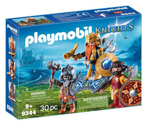 Playmobil - Dwarf King with Guards 9344