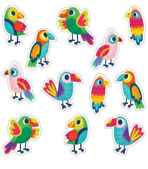 One World Parrots Cut-Outs