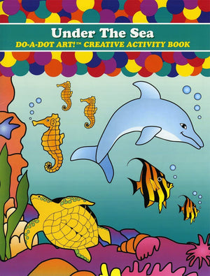 UNDER THE SEA DO-A-DOT ACTIVITY BOOK
