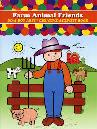FARM ANIMAL DO-A-DOT ACTIVITY BOOK