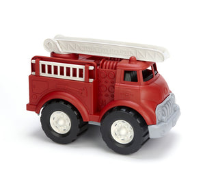 FIRE TRUCK RED GREEN GREEN TOYS