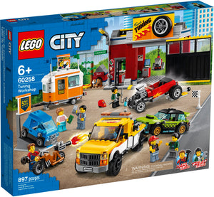 Lego - City - Tuning Workshop 60258