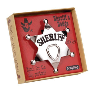 SHERIFF BADGE METAL B R
