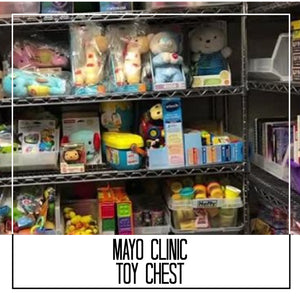 Mayo Clinic Toy Chest Donation