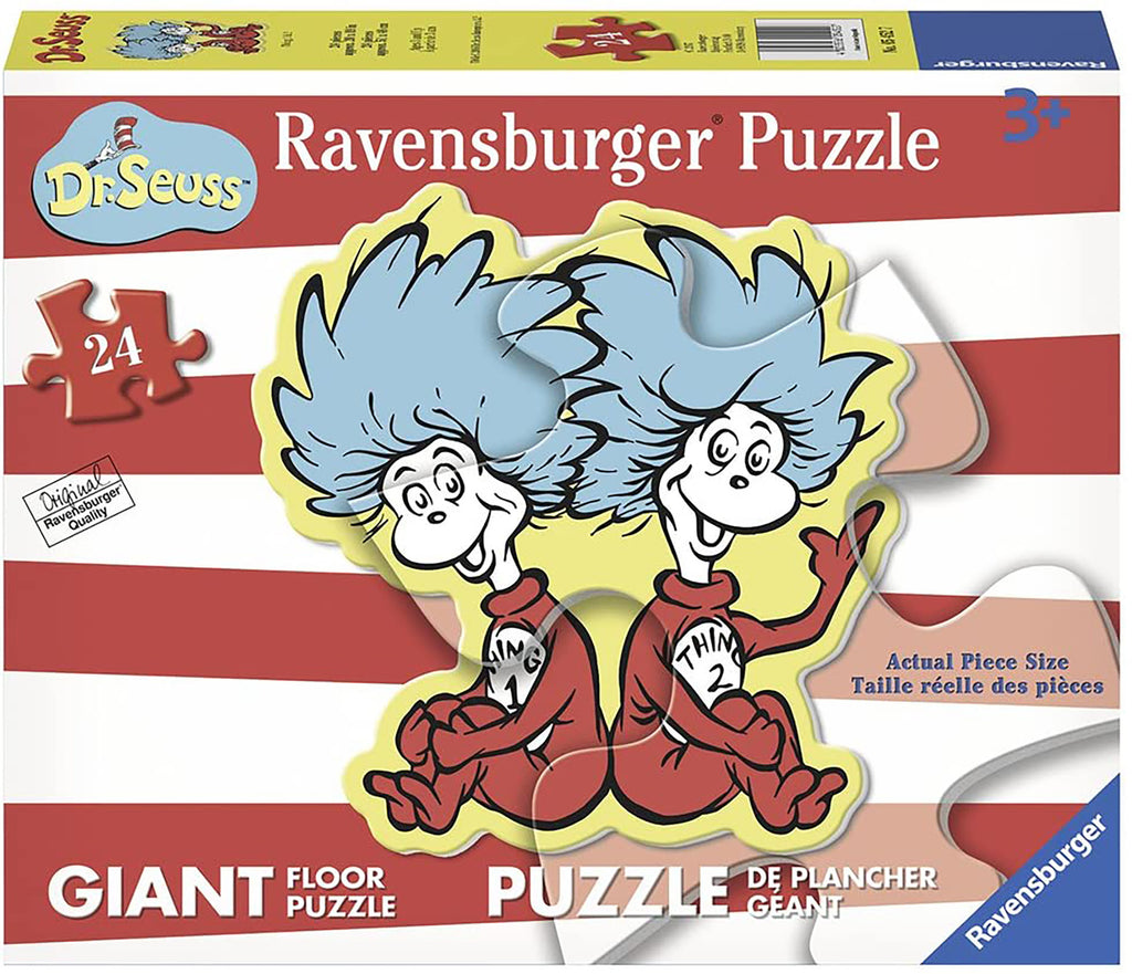 THING 1 AND 2 24PC PUZZLE