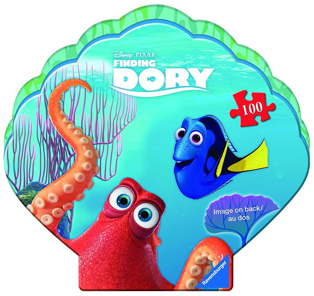 FINDING DORY 100 PC SHAPED