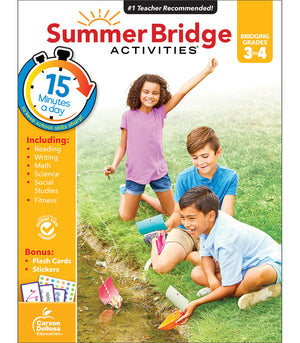 SUMMER BRIDGE 3-4