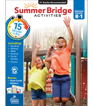 SUMMER BRIDGE ACT WRKBK K-1