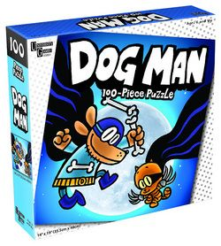 Dog Man and Cat Kid 100 pc. Pzl