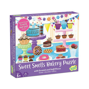SCRATCH & SNIFF - SWEET SMELLS BAKERY PUZZLE