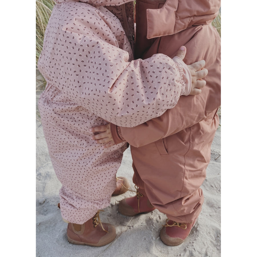 Konges Sloejd :: Nohr Snowsuit Deux Print Tiny Clover Rose