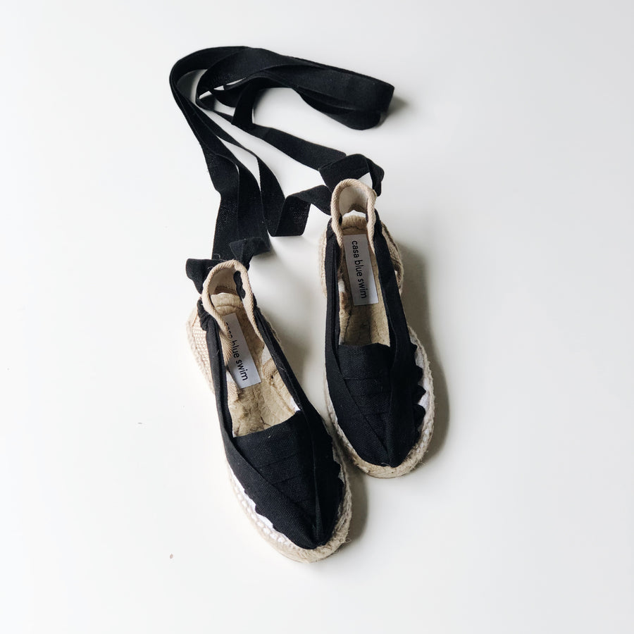Casa Blue Swim :: Espadrl Black