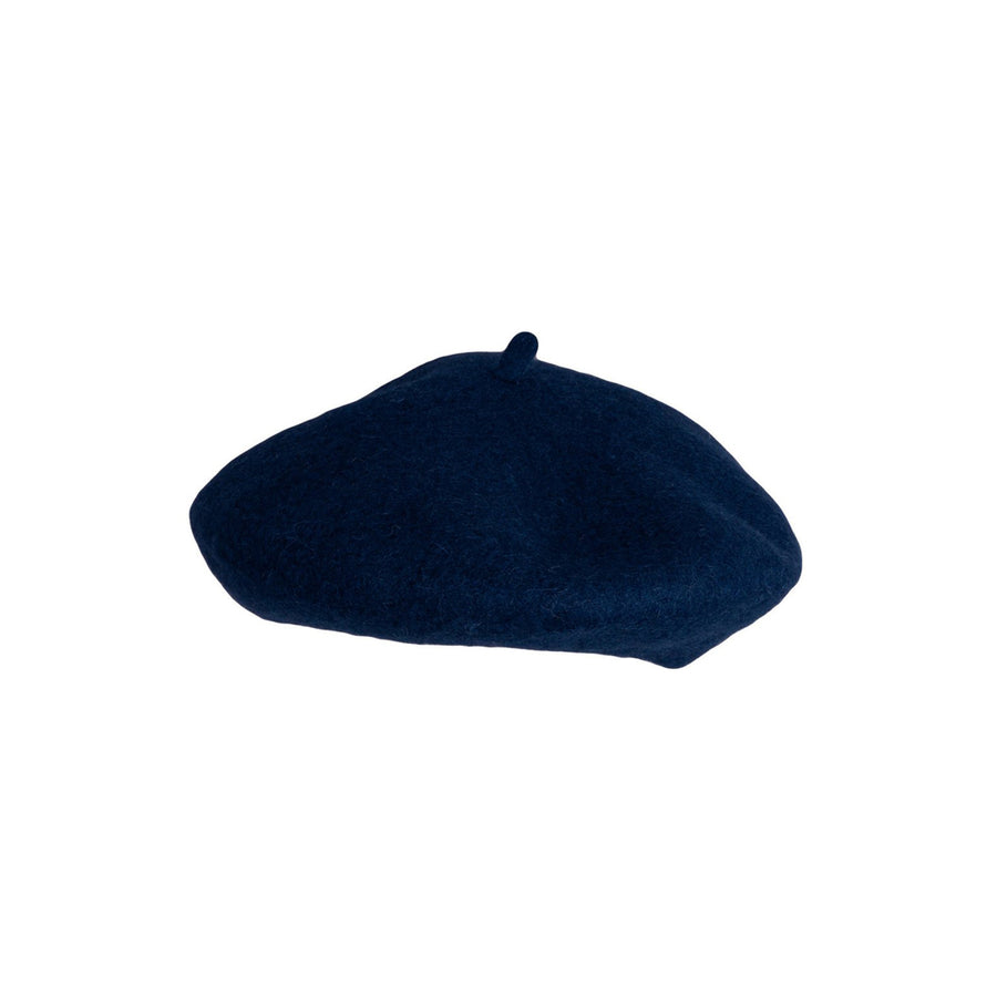 Little Cotton Clothes :: Woollen Beret - Dark Blue