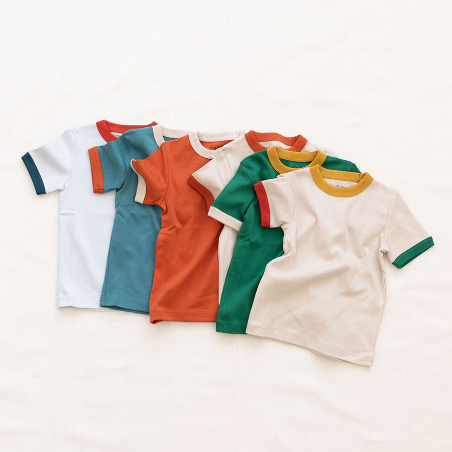 Fin And Vince :: Vintage Tee Solid Colors Emerald