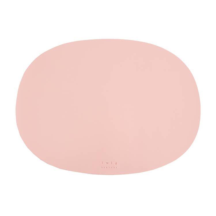 Twig NY :: Oval Table Mat Blush