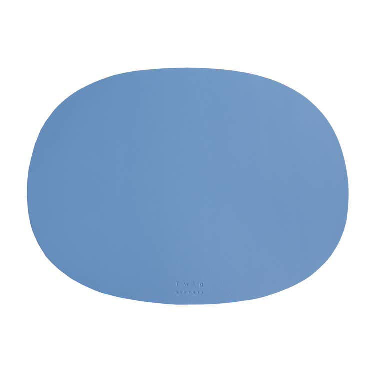 Twig NY :: Oval Table Mat Light Blue